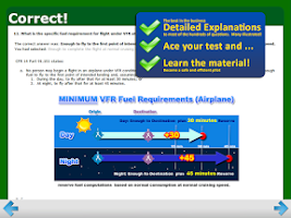 Screenshot of FAA Private Pilot Test Prep