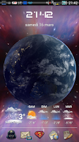 Screenshot of Earth Live Wallpaper HD
