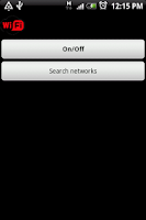 Screenshot of Wifi Droid Profesional
