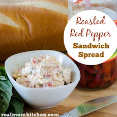 Roasted Red Pepper Sandwich Spread