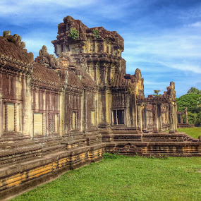 Angkor Wat, Cambodia by Akiro Mahilom - Buildings & Architecture Decaying & Abandoned (  )