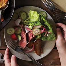 Steak Salad with Horseradish Dressing