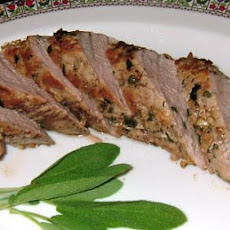 Sage and Garlic Crusted Pork Tenderloin