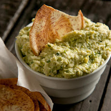 White Bean and Edamame Hummus Recipe