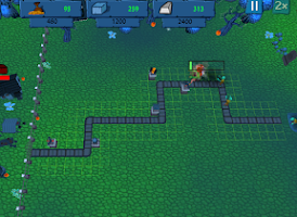 Screenshot of Tower defence - zombie war