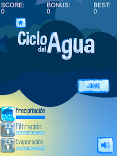 Ciclo del agua - screenshot