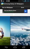 Screenshot of Samsung Galaxy S4 Wallpaper HD