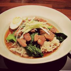 Japanese Pork And Noodle Soup