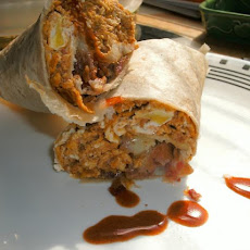 Big Belly Busting Breakfast Burritos!