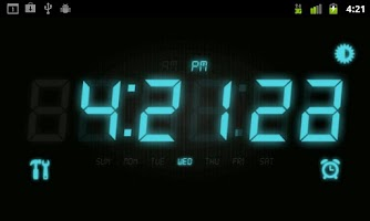 Screenshot of Super Clock Default HD Video