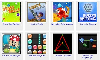 Screenshot of Juegos de Pensar