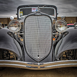 Black Lincoln by Ron Meyers - Transportation Automobiles