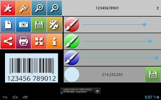 Screenshot of UPCA