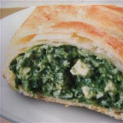 Spinach and Feta Strudel