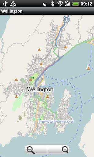 Wellington Street Map