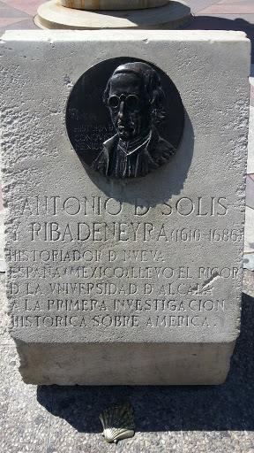 Placa Antonio D Solis