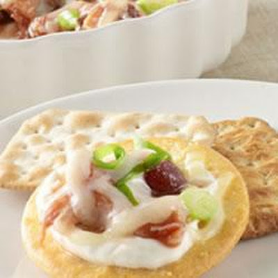 Sweet BBQ Chicken Dip