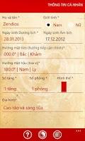 Screenshot of tra cứu PHONG THỦY