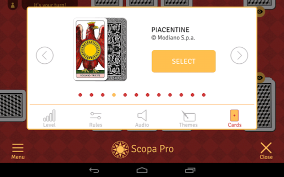 Scopa Pro APK screenshot thumbnail 15