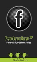 Screenshot of Fontomizer SP(Font for Galaxy)