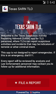 Texas SARN TLO - screenshot