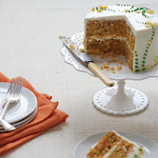 Carrot Cake with Cream Cheese-Lemon Zest Frosting