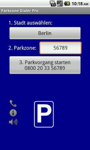 Parkzone Dialer PRO Car Finder