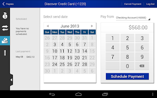 Screenshot of Terre Haute Savings Mobile