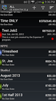 Screenshot of Expense Manager BluJ PRO Key