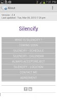 Screenshot of Silencify : Smart Silence