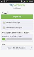 Screenshot of deelauto