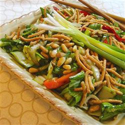 Asian Bok Choy Salad