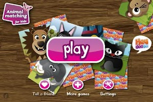 Screenshot of Animal matching for Kids FREE