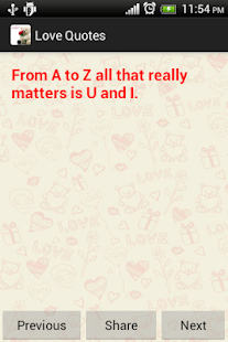 Love Quote Valentines day free - screenshot