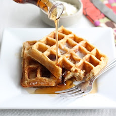 Honey Yogurt Waffles