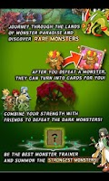 Screenshot of Monster Paradise - Card Battle