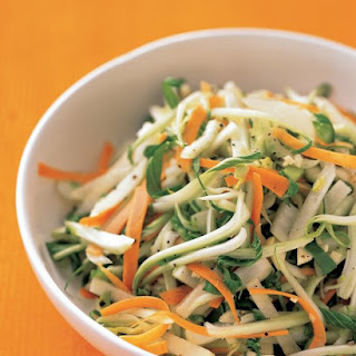 Bok Choy, Carrot, and Apple Slaw
