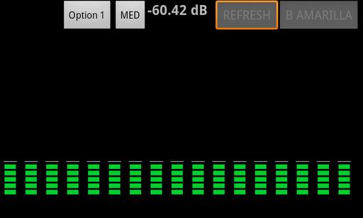 Vumeter -AudioSpectrumAnalyzer
