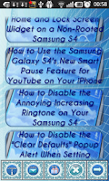 Screenshot of Galaxy S4 Dirty Tricks