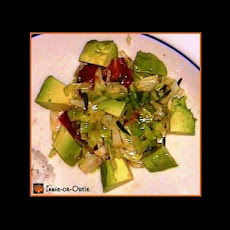 Sautéed Avocado Salad
