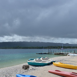 Water Sports by Jessica Hensley - Sports & Fitness Watersports ( water, vanuatu, blue, beach, paddle )