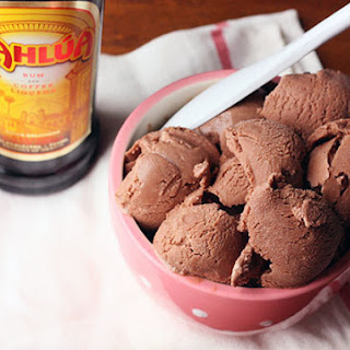 Chocolate Kahlua Frozen Yogurt