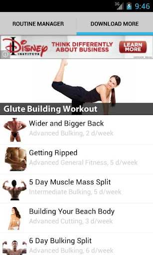 jefit-workout-fitness-gymlog for android screenshot