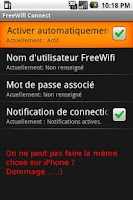 Screenshot of FreeWifi Connect
