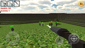 Screenshot of Craft Defence 3D