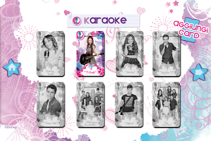 Screenshot of Violetta Digital Card