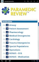 Screenshot of Paramedic Review Plus™