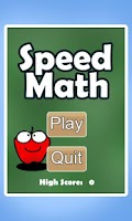 Screenshot of Speed Math