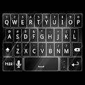 White Tron Style Keyboard Skin icon