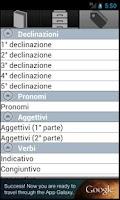 Screenshot of iLatino - Versioni, Dizionario